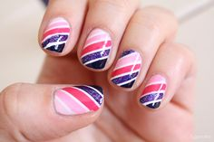 Nails of the week # 4 – Shades of pink & purple | Zygomatics journal