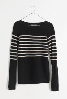 Madewell stripeblock gamine sweater.