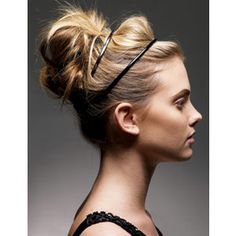 How To: Modern Ballerina Bun  Messy, textured easy up-do.