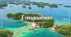 The land of salt-makers, Pangasinan is loved for its postcard-perfect Hundred Islands National Park, which comprise 123 islets scattered in the Lingayen Gulf. Things To Do, Good Things, Philippines, Travel Guide, Travel Destinations, National Parks, River, Lent, History