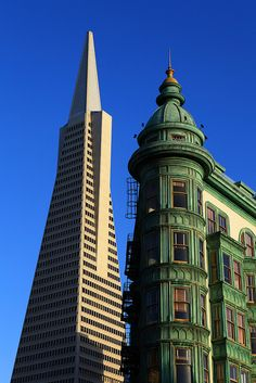 Downtown San Francisco / California