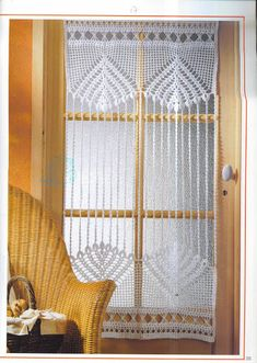 crochet d art - Soledad - Álbuns da web do Picasa. Crochet Edging Patterns, Crochet Diagram, Crochet Motif, Filet Crochet, Thread Crochet, Lace Window, Crochet Curtains, Crochet Home Decor, Window Coverings
