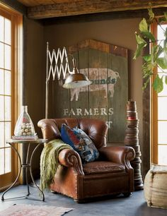 Rustic & Industrial Home With A Very Particular Design Aesthetic 6