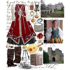 4.historical eras- middle ages, created by hannahbbmmiller.polyvore.com