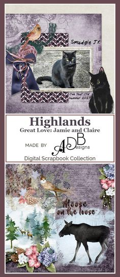 Scrap your vintage photos with #Highlands by #ADBDesigns https://adb-designs.com/shop/index.php?main_page=advanced_search_result&search_in_description=1&keyword=ADB-highlands