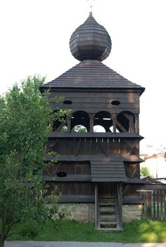 The wooden articled UNESCO church in Hronsek near Hotel Kaskady - in the Carpathian Mountain Area Luxury Holiday, Holiday Hotel, Carpathian Mountains, Places In Europe, In Ancient Times, Iglesias, Beautiful Places In The World, Central Europe, Place Of Worship