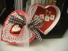 Vintage Valentine's Day Chocolate Box Craft