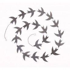 Ketiketa Grey Birds Garland- make it Outdoor Christmas, Christmas Lights, Christmas Crafts, Xmas, Baby Decor, Kids Decor, Arts And Crafts, Paper Crafts, Diy Crafts
