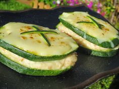 Sandwich de calabacín con Thermomix