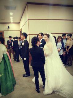 철없는 신랑 재혁오빠의 잊지못할 결혼식. 혼신의 소프라노