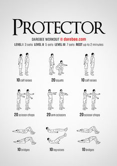 Protector is a Free Full Body Darebee workout designed to help you develop power. Workout Plan For Men, Weekly Workout Plans, Workouts For Teens, Workout Plan For Beginners, Men Exercise, Workout Men, Full Body Dumbbell Workout, Six Pack Abs Workout, Dumbbell Exercises