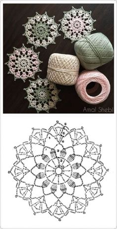 64 Mini Carpetas circulares en crochet (Patrones) Knitting TechniquesCrochet For BeginnersCrochet PatronesCrochet Stitches Crochet Snowflake Pattern, Crochet Snowflakes, Crochet Doily Patterns, Crochet Diagram, Crochet Squares, Crochet Chart, Thread Crochet, Crochet Doilies, Crochet Flowers