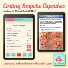 Yesterday Laura asked us if she was undercharging for her large cupcake bouquets... Yes Laura you are! Never undercharge again! Ladies and gents please value your skills and charge correctly.