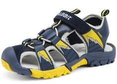 DADAWEN Boy's Girl's Summer Closed-Toe Strap Sandal (Toddler/Little Kid/Big Kid) Dark Blue US Size 11 M Little Kid. Sporty sandal with hook-and-loop adjustability. Lightweight and water-friendly upper. Closed-toe athletic sandal with contrast stitching, EVA footbed. Sanitized anti-microbial treatment. 2017 New Arrival!!!Easter Special Sales!!Only 10 days, The lowest price $19.99.After,Prices will continue to rise, until the original price, until the original price.