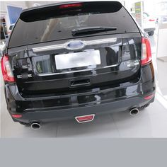 High Quality Chrome Rear Trunk Streamer For Ford Edge   Car Accessories