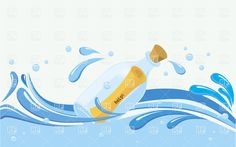 message in a bottle - Google Search