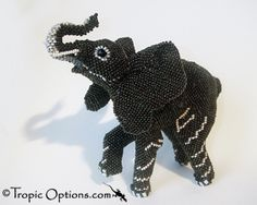 Beaded Elephant....love it