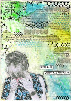 #papercraft #artjournaling art  journal page