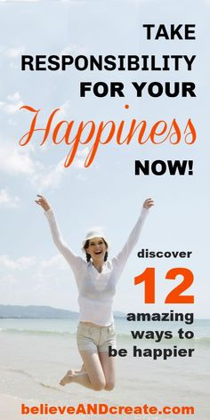 If you're ready to be happier, learn how doing these 12 things will bring more happiness into your life immediately.  #tipstobehappier #waystofeelhappier #feelhappier #thingstodotobehappier #iwanttobehappier #happierlifestyle #howtolivehappier Self Development, Personal Development, Love Your Life, Life Is Good, Ways To Be Happier, Transform Your Life, Negative Thoughts, Best Self, Self Improvement