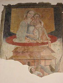 Basilica di Santa Maria Assunta (Atri) - Madonna dell'Alto Mare  ( 1460 circa ) - Andrea De Litio