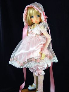 Dress fits Kaye Wiggs,Dollstown, MSD, BJD. by Little Charmers Doll Designs