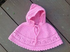 Crochet Hooded Poncho free pattern: Craft Passions
