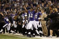 Literally a chilling moment for Torrey Smith