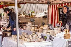 """""""Say Cheese"""" - Farmers Market In Temple Bar (Dublin) cheese is lovely."""