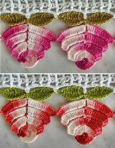 Watch The Video Splendid Crochet a Puff Flower Ideas. Phenomenal Crochet a Puff Flower Ideas. Crochet Puff Flower, Crochet Flower Tutorial, Crochet Flower Patterns, Crochet Designs, Crochet Flowers, Knitting Patterns, Crochet Trim, Irish Crochet, Crochet Motif