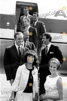 Celebrities arriving at march on Washington 1963.