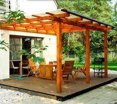 dach z drewna i poliwęglanu - Szukaj w Google