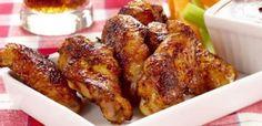 Ailes de poulet avec enrobage barbecue