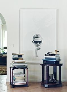 Huge portrait. Would love to do this with our grandparents in their younger days.