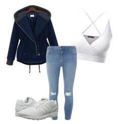 """Untitled #28"" by jessfry10 on Polyvore featuring Doublju, Dorothy Perkins and adidas Originals"