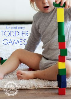 9 Fun and Easy Toddler Games