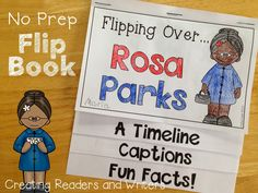 Go, Rosa! ... A book recommendation and activities for celebrating Rosa Parks. (Blog post from Creating Readers and Writers) #rosaparks #blackhistorymonth