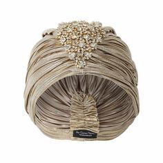 Gold Crystal Turban