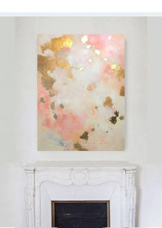 3648 Original Oil Painting on canvas by Amanda Faubus Flow Painting, Oil Painting On Canvas, Art And Illustration, Abstract Canvas, Canvas Art, Art Sur Toile, Gold Leaf Art, Diy Wall Art, My New Room