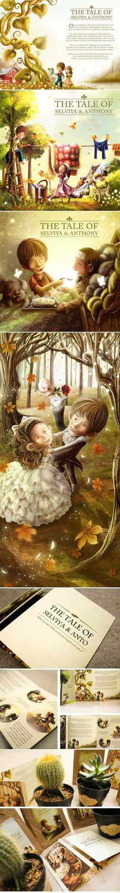 The Tale of Selviya and Anto 'Fairy Tale Wedding' by ~papercaptain on deviantART