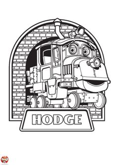 Coloriage dessins chuggington 14 coloriage dessins pour - Chuggington dessin anime ...