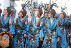 Desfiles de Moros y Cristianos en Cúllar