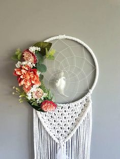 Hey, I found this really awesome Etsy listing at https://www.etsy.com/uk/listing/547385443/pink-dreamcatcher-dream-catcher-nursery
