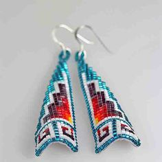 Diné artist Sapphira Scott hand crafted this gorgeous beaded design on White leather