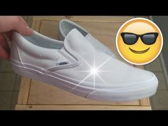 How to clean white shoes with baking soda | Vans | Converse | Adidas  Superstars |
