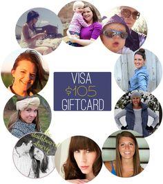 $105 VISA giveaway!!!