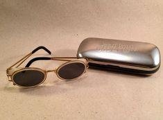 Vintage Jean-Paul Gaultier Sonnenbrille 58-6202 Case sunglasses Steampunk