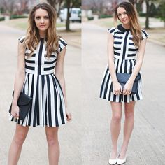 Spring Stripes (by Madeline Becker) http://lookbook.nu/look/4670891-Spring-Stripes