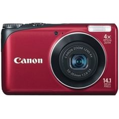 CANON Powershot A2200(Red) (14.1 MP, 4X Optical Zoom, 6.8cms LCD Screen.)