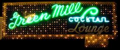 Green Mill Cocktail Lounge in Chicago, Illinois... cool atmosphere and jazz music.