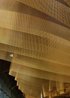 Image 13 of 43 from gallery of Domus Sent Sovi / MSB Estudi‐taller d'arquitectura. Courtesy of MSB Estudi‐taller d'arquitectura Ceiling Art, Ceiling Beams, Ceiling Design, Ceiling Lights, Ceilings, Fabric Ceiling, Architecture Details, Interior Architecture, Interior Design